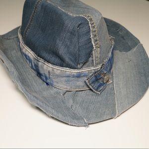 Accessories - Denim Hat cowboy Jeans